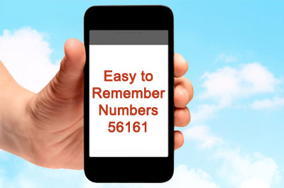 easy-to-remember-number-56161